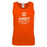 Orange Tank Top-Ambit Energy Canada