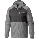 Columbia Flash Forward Grey/Black Wind Jacket-Ambit Energy