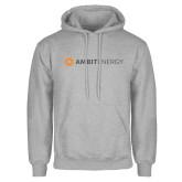 Grey Fleece Hoodie-Ambit Energy