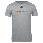 Adidas Sport Grey Logo T Shirt-Ambit Energy Japan