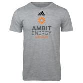 Adidas Sport Grey Logo T Shirt-Ambit Energy Canada
