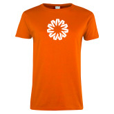 Ladies Orange T Shirt-Spark