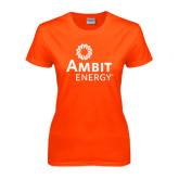 Ladies Orange T Shirt-