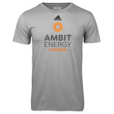 Adidas Climalite Sport Grey Ultimate Performance Tee-Ambit Energy Canada