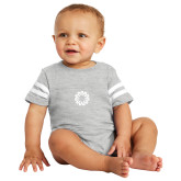 Vintage Heather Jersey Onesie-Spark