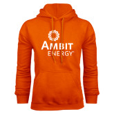 Orange Fleece Hood-