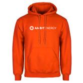 Orange Fleece Hoodie-Ambit Energy