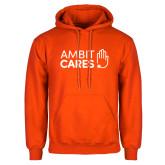 Orange Fleece Hoodie-Ambit Cares