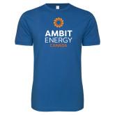 Next Level SoftStyle Royal T Shirt-Ambit Energy Canada