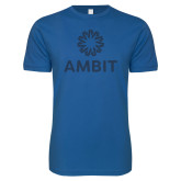 Next Level SoftStyle Royal T Shirt-Ambit Spark Tee