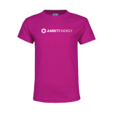 Youth Fuchsia T Shirt-Ambit Energy