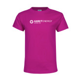 Youth Cyber Pink T Shirt-Ambit Energy Japan