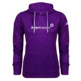 Adidas Climawarm Purple Team Issue Hoodie-