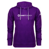 Adidas Climawarm Purple Team Issue Hoodie-Ambit Energy