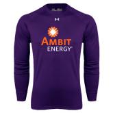 Under Armour Purple Long Sleeve Tech Tee-