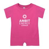 Bubble Gum Pink Infant Romper-Ambit Energy Canada