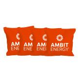 Orange Cornhole Bags, Set of 4-Ambit Energy