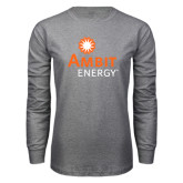 Grey Long Sleeve T-Shirt-