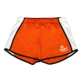 Ladies Orange/White Team Short-