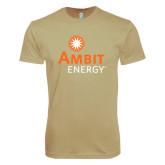 Next Level SoftStyle Khaki T Shirt-
