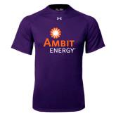 Under Armour Purple Tech Tee-