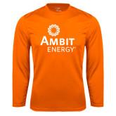 Syntrel Performance Orange Longsleeve Shirt-