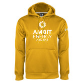 Under Armour Gold Performance Sweats Team Hoodie-Ambit Energy Canada