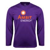 Syntrel Performance Purple Longsleeve Shirt-