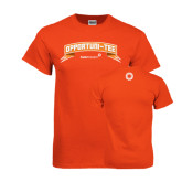 Orange T Shirt-Opportuni Tee