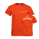 Orange T Shirt-My Friends Pay My Energy Bill