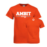 Orange T Shirt-Collegiate Ambit Energy