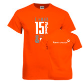 Orange T Shirt-I Have 15 Friends & Now I Have Free Energy