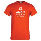 Orange T Shirt-Ambit Energy Japan