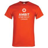 Orange T Shirt-Ambit Energy Canada