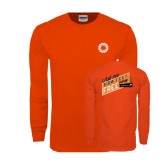 Orange Long Sleeve T Shirt-Ask Me How