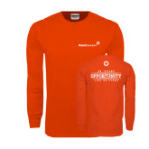 Orange Long Sleeve T Shirt-An Income Opportunity