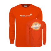Orange Long Sleeve T Shirt-Established 2006-Finest & Most Respected
