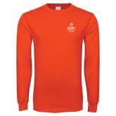 Orange Long Sleeve T Shirt-Ambit Energy Canada
