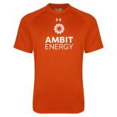 Under Armour Orange Tech Tee-Ambit Energy