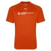 Under Armour Orange Tech Tee-Ambit Energy Japan