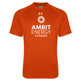 Under Armour Orange Tech Tee-Ambit Energy Canada