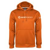 Under Armour Orange Performance Sweats Team Hoodie-Ambit Energy