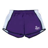 Ladies Purple/White Team Short-