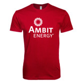 Next Level SoftStyle Cardinal T Shirt-