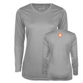 Ladies Syntrel Performance Platinum Longsleeve Shirt-Spark