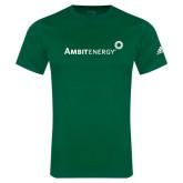 Adidas Kelly Green Logo T Shirt-
