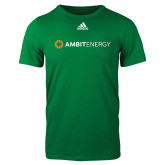 Adidas Kelly Green Logo T Shirt-Ambit Energy