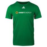 Adidas Kelly Green Logo T Shirt-Ambit Energy