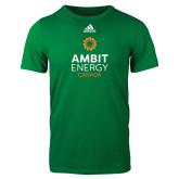 Adidas Kelly Green Logo T Shirt-Ambit Energy Canada