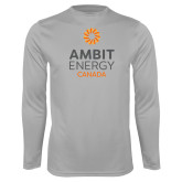 Performance Platinum Longsleeve Shirt-Ambit Energy Canada
